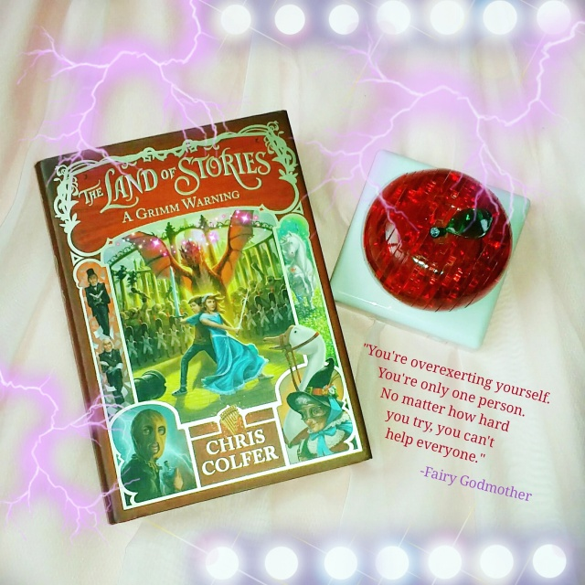 The Land Of Stories A Grimm Warning By Chris Colfer Favorite Lines