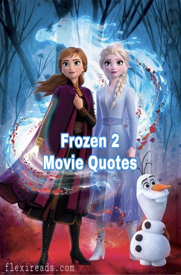 frozen movie quote flexi reads